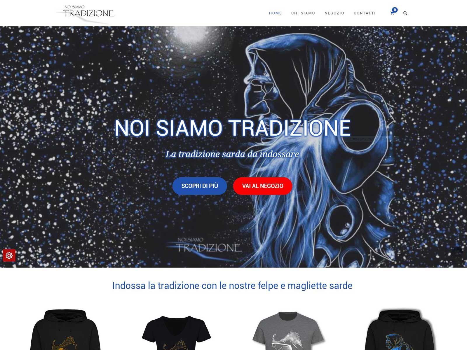 Realizzazione siti web: Noi Siamo Tradizione